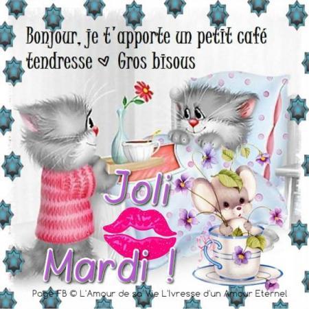 Bonjour Bon Mardi A Tous Et Toutes On A Bien Le Soleil