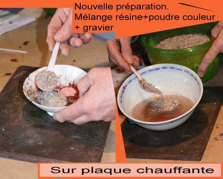 Artbraille blog artbraille 34 - Resine epoxy pour joint carrelage ...
