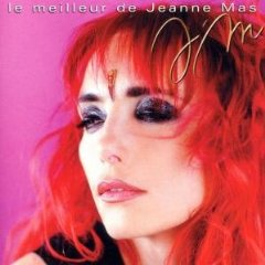 Original cheveux teints rouge jeanne mas chanteuse son originalit et genre qui lui va bien - Jeanne mas et son mari ...