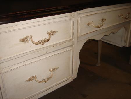 Bureau chippendale par meubles restauration peaudane avignon