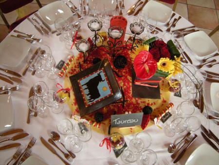 D coration de table espagnole par pourvotrebonheur blog for A table en espagnol