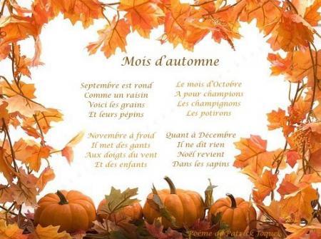 L Automne Octobre Citations Poesie Bon Jeudi