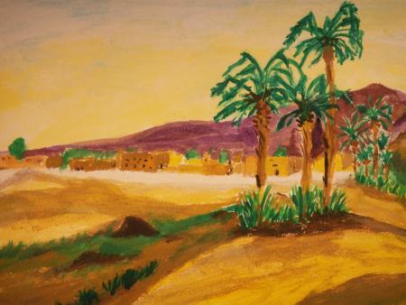 Top Paysage Marocain par paysages-varois-peinture blog (SIX FOURS LES  XW47
