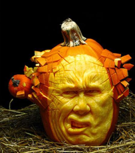 Citrouille effrayante par happy halloween blog - Citrouille effrayante ...