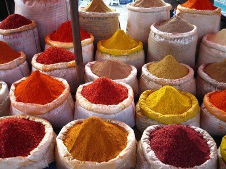 2386.les epices dans la cuisine marocaine. par rolbenzaken blog