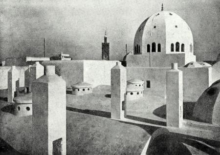 Mm cadet et brion architectes au maroc for Architecte casablanca